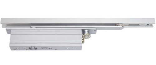 Power size 3-5 concealed door closer, rack & pinion with slide arm
