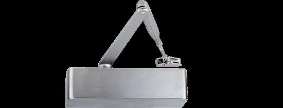 EN 2-6 door closer, rack & pinion with link arm