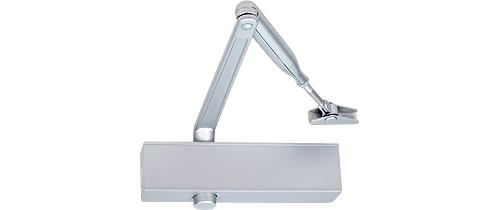 EN 2-5 door closer, rack & pinion with link arm