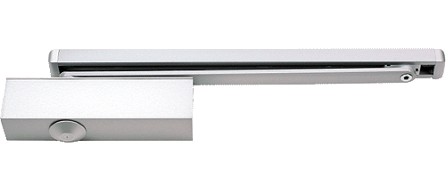 EN 3 door closer, cam action system