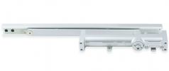 Power size 2/3 concealed door closer, rack & pinion with slide arm
